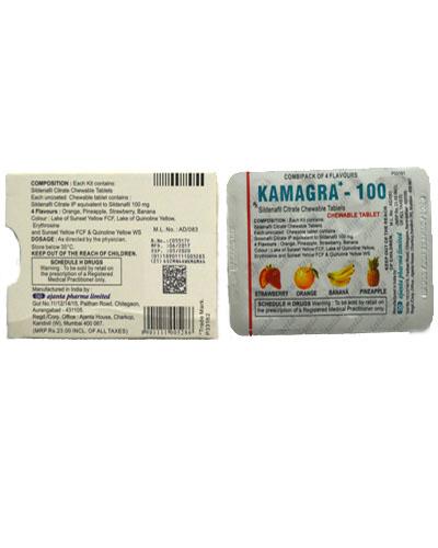 水果味伟哥片剂(kamagra-100)